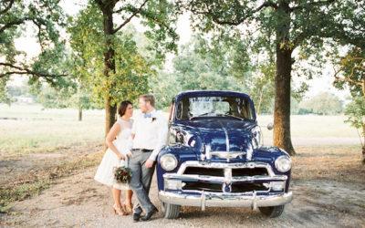 Texas Aggies Maroon Vintage Wedding